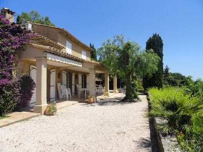Photo for Sainte Maxime. Beautiful villa with pool for 10 pers. calm neighborhood