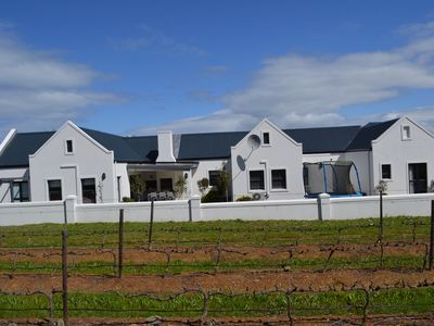 Photo for Cape Town Luxury  Self Catering Home in a Working Wine Farm - Family Friendly