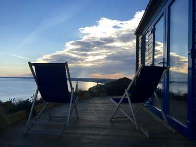Photo for Blue Haze Chalet, Stunning Ocean Views.