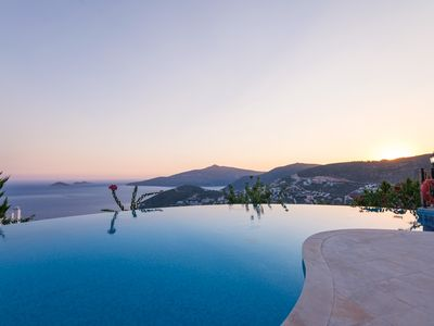 Photo for Villa Tulipa enjoys breathtaking sea views on its hill-side perch.