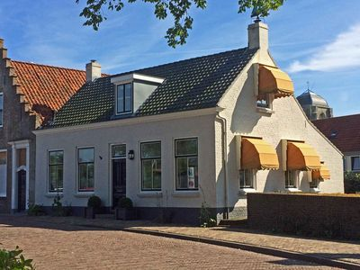 Photo for Romantic four pers. family house directly at marina of Veere, wifi and garden