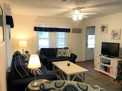 Photo for 2019 Rates Reduced Book Today!  Pet Friendly 4BR Duplex w/ Linens Quick Walk to Beach!