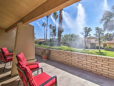Photo for NEW! Trendy Palm Springs Condo w/Comm Pool & Patio