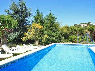 Photo for Club Villamar - Cozy villa with airco, nice garden with children's playground and private pool in...