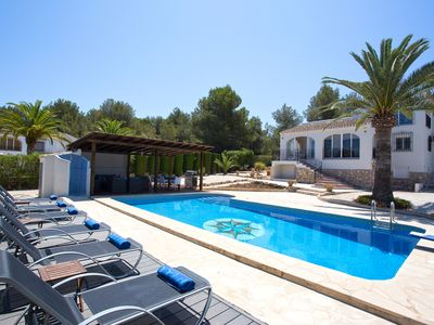 Photo for Luxury villa with pool and beautiful outdoor facilities nearby sea and beach