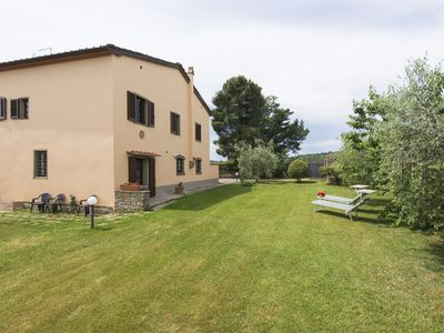 Photo for Villa with panoramic unique position pool Monte San Savino