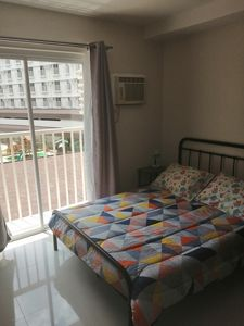 Photo for Studio room free use of swimming pool and gym, WiFi, kitchen, hot shower