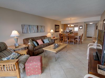 Photo for 2BR / 2BA -  Beautiful view of the Gulf and Pool