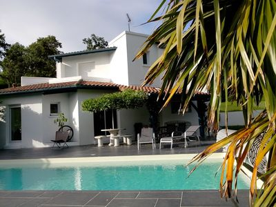 Photo for SUPERB MODERN VILLA HEATED POOL SECURE