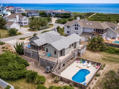 Photo for Inn Jeopardy! | 230 ft from the beach | Private Pool