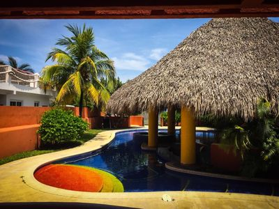 Photo for Great Ocean Front Home in Chulamar Guatemala CH011