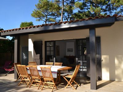 Photo for Cap Ferret: Villa 4 bedrooms and heated pool