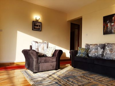 Photo for Excellent two bedroom apartment near UN Nairobi