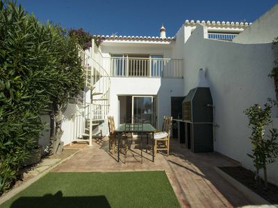 Photo for Modern T2 villa, less than 1 minute to the beach, located in Praia da Luz.