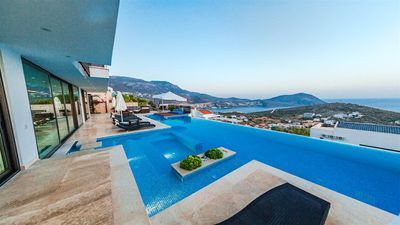 Photo for Blue Angels Trio stunning villa with amazing views over Kalkan & Kalamar bays