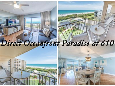 Photo for Brand New Condo & Listing!    Direct Oceanfront Tropical Paradise!!