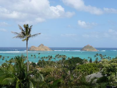 Photo for Lanikai Ocean View - 180 degree ocean views