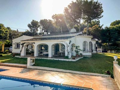 Photo for *** JAVEA VILLA *** 4 Bedrooms, Air Con, Wifi, UK TV, Private Pool, BBQ