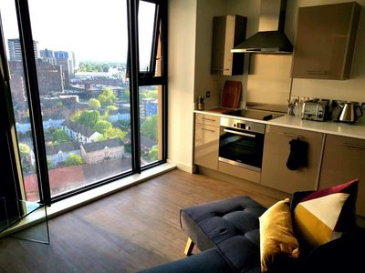 Photo for Very Central - 17th Floor City Views - 2 Mins Walk to Brindleyplace, Arena & ICC