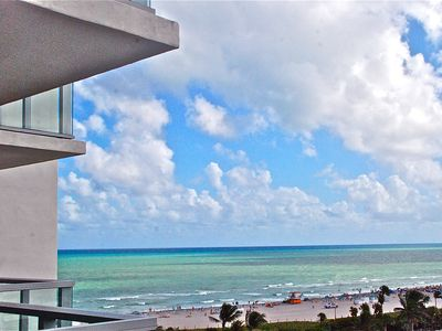 Photo for W Hotel South Beach: Stunning & Spacious Ocean View 2/2 + den