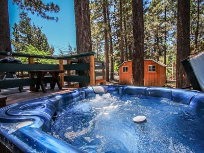 Photo for GREAT VALUE!  Close to Ski Slopes!  GOLF COURSE steps away.  Cute! Hot Tub!