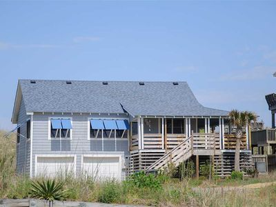 Photo for Mann Cottage: Bring your family and friends and pet! Relax in this cute 3 bedroom ocean front home.