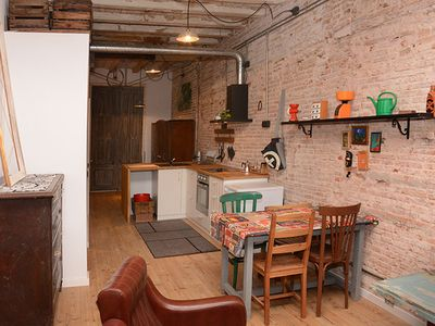 Photo for NYC Loft style apartment in vibrant & exciting Raval Barcelona