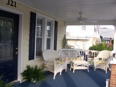 1 Side View of Open Porch