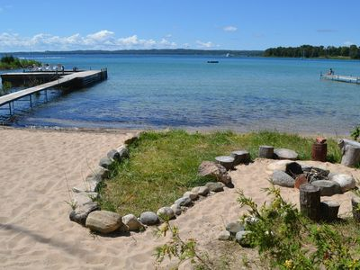 Cozy Cottage Retreat with Sandy Beach on Grand Traverse Bay