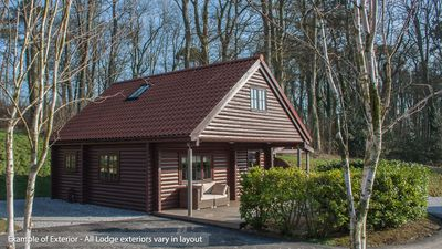 Exterior of Lodge - all layouts slightly different