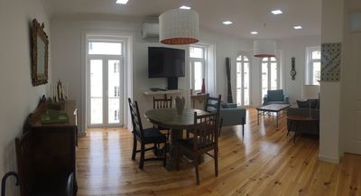 Photo for LIGHT FILLED OPEN CONCEPT 3 BR WITH A/C IN LISBON IN HISTORIC BUILDING