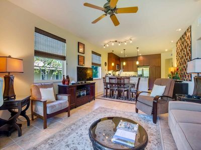 Photo for Luxe Style+Great View! Roomy 2-Story w/Kitchen, WiFi, Laundry–Halii Kai Waikoloa 6H