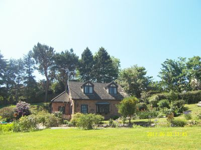 Photo for 5 star Cottage with Seaview in an acre garden with tennis court 4th Tripadvisor
