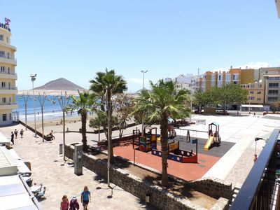 Photo for Beachfront Apartment in El Medano with sat tv and wifi