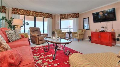 Photo for Elegant Escape with Exceptional Gulf Views in Decadent Sand Key!