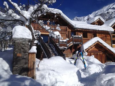Photo for In the Ecrins National Park an exceptional chalet.