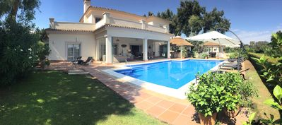 Photo for 5 Bedroom Luxury Villa: Private Pool, Idilic setting, Front Line Golf Views