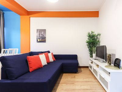 Photo for Stylish apartment near Campo Mártires da Pátria, for 5 people with Wi-Fi&TV
