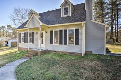 This 3-bedroom, 2-bath Raleigh home will be all you need and more!