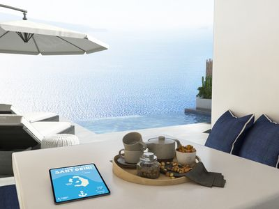 Photo for Suite Sea View with Loft & Private Pool - Siete Mares Luxury Suites