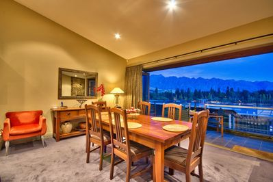 Dining Room opens onto deck