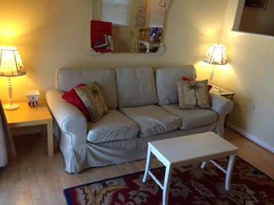 Photo for 52nd St Ocean Side / View, Steps to Beach 2 Balconies - Sunshine Awaits!