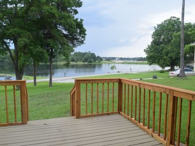 Photo for Waterfront Vacation home - Heart of Lake Conroe, close in to all the action!