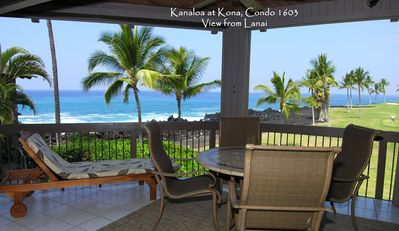 Photo for Aloha Condos, Kanaloa at Kona, Condo 1603, Oceanfront
