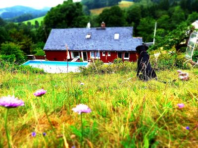 """Photo for Holiday in a cottage in """"Haus am Horn"""" in the heart of Saxon Switzerland"""