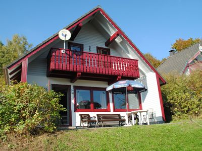 Photo for Spacious holiday home in the southern Sauerland in a marvellous location with open fireplace