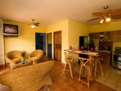 Photo for One Bedroom Ocean View Apartment in Playa Ocotal