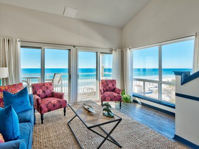 Photo for Directly on the beach! Infinite views of the Emerald Coast at Crystal Sands