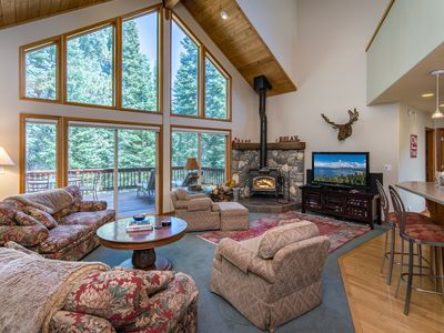 Photo for Spacious & Sunny 4BR Tahoe Donner Home – Enjoy Access to 5-Star Amenities
