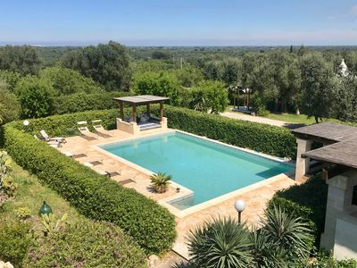Photo for Hilltop property near Ostuni with pools & panoramic views. Excellent amenities